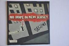 "NO HOPE IN NEW JERSEY : LIMITED NUMBERED 7"" VINYL. a. DECLINE. b. HEDSWELL. MINT"