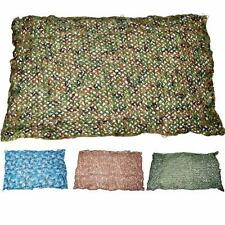 Woodlands Jungle Camouflage Netting Camo Net Camping Military Hunting US U7Q7