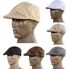Comfy Summer Stylish Unisex Hat Modern Country Peaked Cap Beret Flax Cabbie