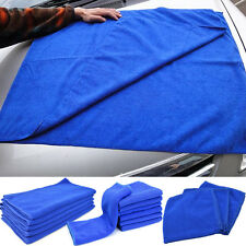 Blue Microfiber Towel Kitchen Wash Auto Car Home Cleaning Wash Clean Cloth