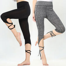 Womens Sports Gym Yoga Workout Running Leggings Fitness Lounge Athletic Pants