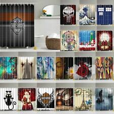 Shower Curtain Bath Waterproof Polyester Fabric Drapes Modern Style Pattern 71""