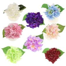 1pcs Hydrangea Bunch Artificial Silk Flower Home Yard Flower Vase DIY Decoration