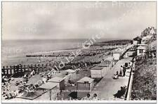 Norfolk Sheringham Promenade and Beach Huts Old Photo Print - Size Selectable