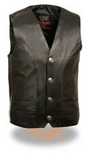 Milwaukee Men's Classic Leather Vest