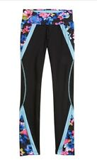 NWT Justice Girls 8 GYMNAST Printed Colorblock Leggings