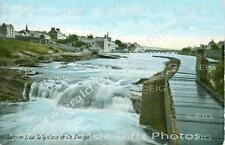 Donegal Salmon Leap Ballyshannon Old Irish Photo - Size Selectable