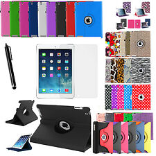 360 Rotating Leather Folio Case Cover Folding Stand for Apple iPad Mini 2 3 4