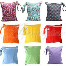 NEW Waterproof Zipper Baby Cloth Diaper Nappy Storage Wet Dry Bag Swimer Tote