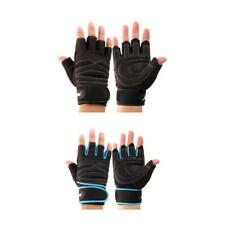Sports Half Finger Gloves Weight Lifting Fitness Exercise Gym Gloves Wrist Wrap