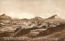 Donegal Mountain Range in Donegal Highlands Old Irish Photo Print - Size Select