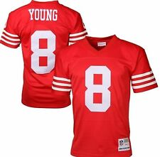 NFL Steve Young San Francisco 49ers Mitchell & Ness Vintage Replica Jersey Red