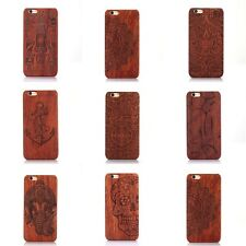 Luxury Natural Wooden Wood Bamboo Case For iPhone 6 plus/6S plus Cover Shell ZJ