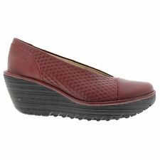 Fly London Yema685Fly Wedge Red Womens Shoes