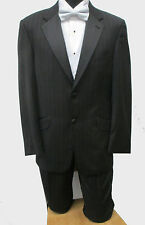 Black Joseph Abboud Tuxedo Jacket with Pants & FIVE TUXEDO VESTS Wedding Prom