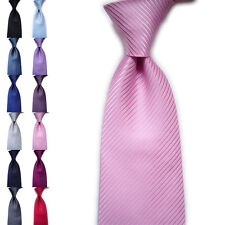 Fashion Men's Classic Striped Ties WOVEN JACQUARD Silk Suits Tie Necktie Hot