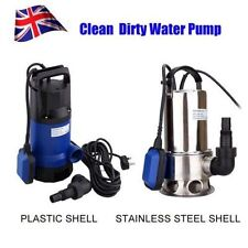 ELECTRIC SUBMERSIBLE PUMP FR DIRTY OR CLEAN WATER - POOL/FLOOD/GARDEN/WELL/POND