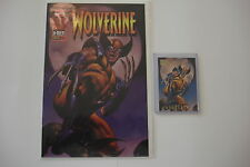 Wolverine (1988 1st Series) Special #102.5 VF 8.0 + Marvel Masterpieces Card 93