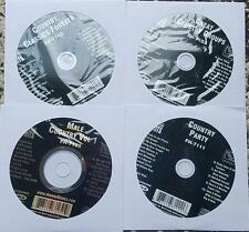 4 CDG CLASSIC COUNTRY KARAOKE DISCS FOREVER HITS HANK WILLIAMS,BUCK OWENS CD+G