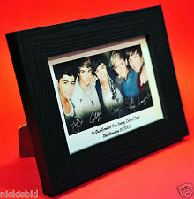 ONE DIRECTION PERSONALISED PHOTO & FRAME - GREAT BIRTHDAY & VALENTINES PRESENT