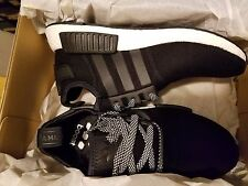 Adidas NMD R1 Nomad White Black Wool BW0617 BOOST Reflective Grey 3M Size 7.5-13