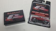 NEW Snap ON 1:64 die cast 57 CHEVY CHEVROLET NOMAD CAR GLO MAD PLAYING CARDS