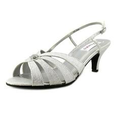 Dyeables Fiona  D Open-Toe Synthetic  Slingback Heel