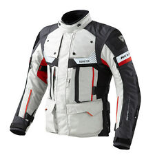 Rev'it! Defender Pro GTX Motorcycle Jacket Grey Red | Rev it Revit | All Sizes