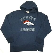 Denver Broncos Hoodie Men's NFL First Strike Hooded Pullover Sweatshirt