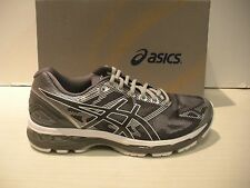 ASICS MENS NIMBUS 19 RUNNING SNEAKERS- SHOES- T700N-9701 - CARBON/ WHITE/ SILVER