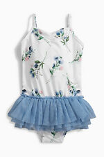 ВNWT NEXT Girls Kids Swimwear Costume • Floral Tutu Swimsuit • 9-12 Months