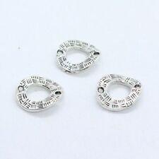 10/30/150pcs Tibetan Silver Charms Connectors Bails for Jewelry Findings 15x18mm