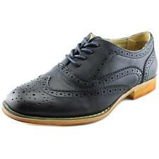 Wanted Babe Women  Moc Toe Synthetic Blue Oxford