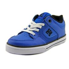 DC Shoes Pure Elastic Youth  Round Toe Leather  Skate Shoe NWOB
