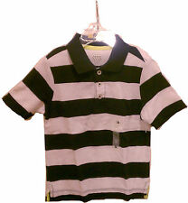 Old Navy Boys Toddler Baby Top T-Shirt Polo Sizes 12-18M & 3T Blue White Short