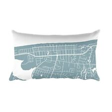 Bethany Beach Pillow, Bethany Beach Throw Pillow From $39.99 - ModernMapArt
