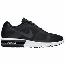 Nike Air Max Sequent Black White Mens Trainers
