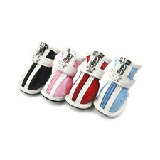 JML NEW Color PU Cozy Cute Fashion Boots Shoes For Small-Large Dog Puppy X702