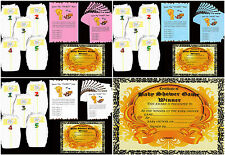 BABY SHOWER GAMES DIRTY NAPPIES 4 BABY GIRL/BOY/NEUTRAL 10 Players NO CHOCOLATE