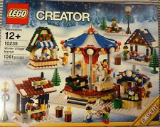 LEGO 10235 WINTER VILLAGE MARKET BRAND NEW - Holiday Set with Mini-Figures