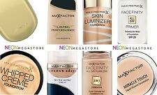 Max Factor Foundation - Colour Adapt / Facefinity / Lasting Performance & More