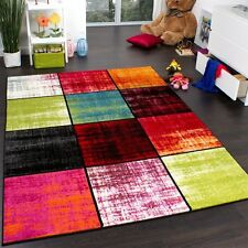 Fashion Multi Coloured Rug Colourful Stylish Elegant Carpet Modern Design Large