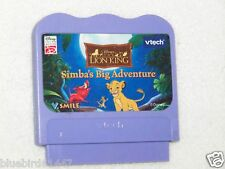 Vtech V.smile game cartridge Disney The Lion King Simba's Big Adventure