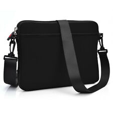 Black Soft Business Briefcase School Messenger Laptop Bag Case Cover for Laptop