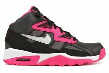 New Nike Youth Air Trainer SC GS Shoes (579806-005)  Anthracite/MTS-Black-Pink