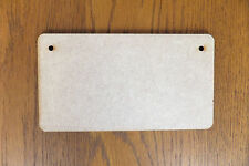 Wooden MDF Plaques signs blank craft shapes rectangles 160mm x 85mm