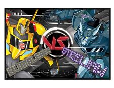 Transformers Gloss Black Framed BB Vs Steeljaw Maxi Poster 61x91.5cm