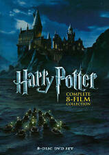 Harry Potter: Complete 8-Film Collection (DVD, 2011, 8-Disc Set) WITH SLIP COVER