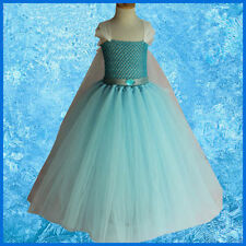 Disney Inspired Frozen Elsa Tutu Dress, Handmade with LINED TOP
