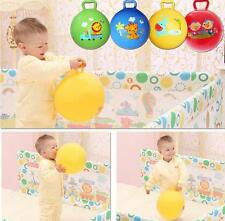 Cartoon Animal Educational Toy Ball For Baby Inflatable Bouncing Ball Sport Toy